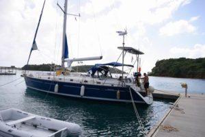 Silvestertörn Karibik 2008/2009 – Grenadinen 1