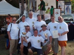 Antigua Sailing Week 2007 / 2007-04, Gesamtsieg 'bareboats' Georg Ondrej & Team beim 1. Antritt!