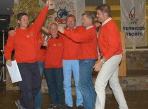 Sieg beim BLUE CUP 2005 / 2005-11, Sieger Beneteau-Cup von Griechenland